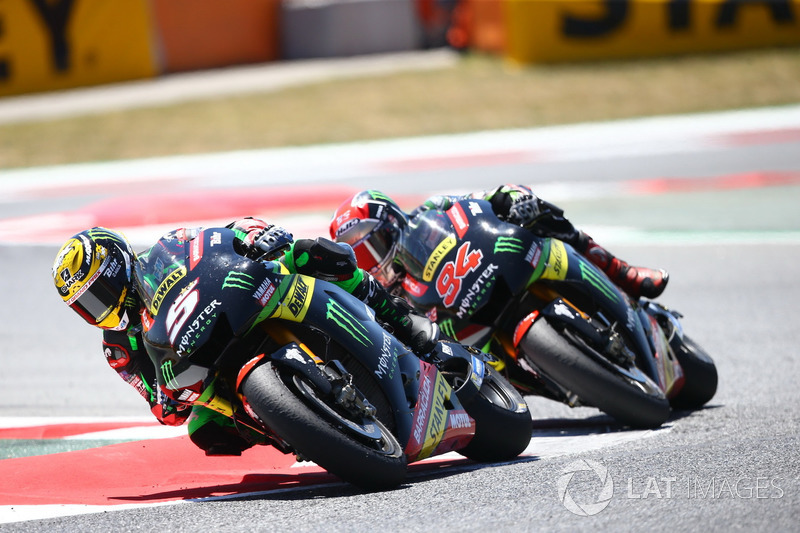 Johann Zarco, Monster Yamaha Tech 3, Jonas Folger, Monster Yamaha Tech 3