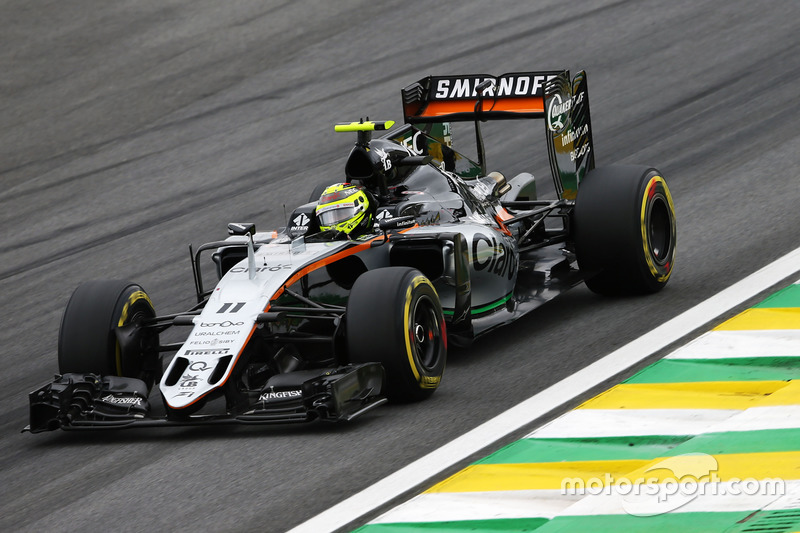 Sergio Perez, Sahara Force India F1, 1.12.165