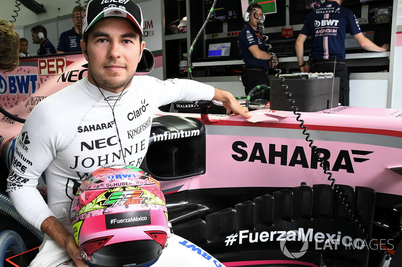 7. Серхіо Перес, Sahara Force India F1 VJM10 - 76