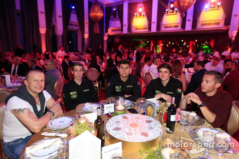 Daniel Nagy, Honda Team Zengo, Honday Civic WTCC, mit Olivier Panis