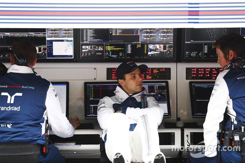 Felipe Massa, Williams, Rob Smedley, Capo delle Performance del Veicolo Williams