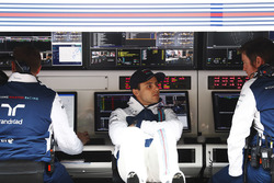 Felipe Massa, Williams, Rob Smedley, Capo delle Performance del Veicolo Williams