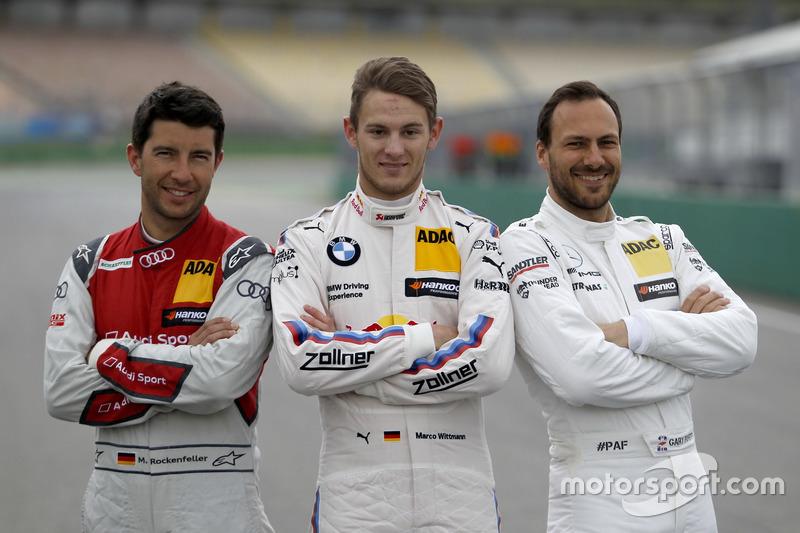Mike Rockenfeller, Audi Sport Team Phoenix, Audi RS 5 DTM, Marco Wittmann, BMW Team RMG, BMW M4 DTM, Gary Paffett Mercedes-AMG Team HWA, Mercedes-AMG C63 DTM
