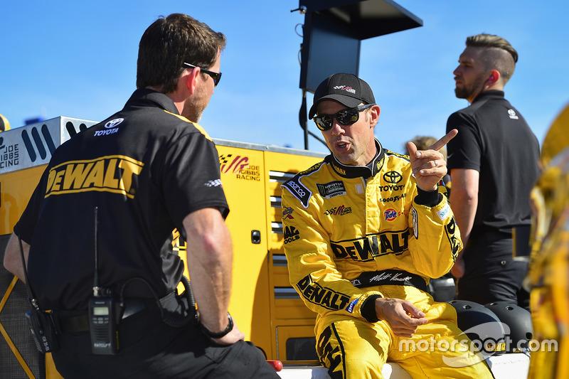 Matt Kenseth, Joe Gibbs Racing, Toyota, mit Crewchief Jason Ratcliff