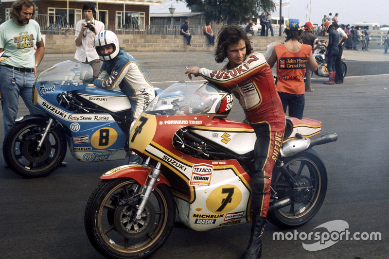 Barry Sheene, Suzuki