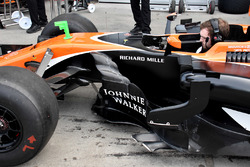 McLaren MCL32: Seitenkasten