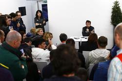 Fernando Alonso, McLaren habla con la prensa
