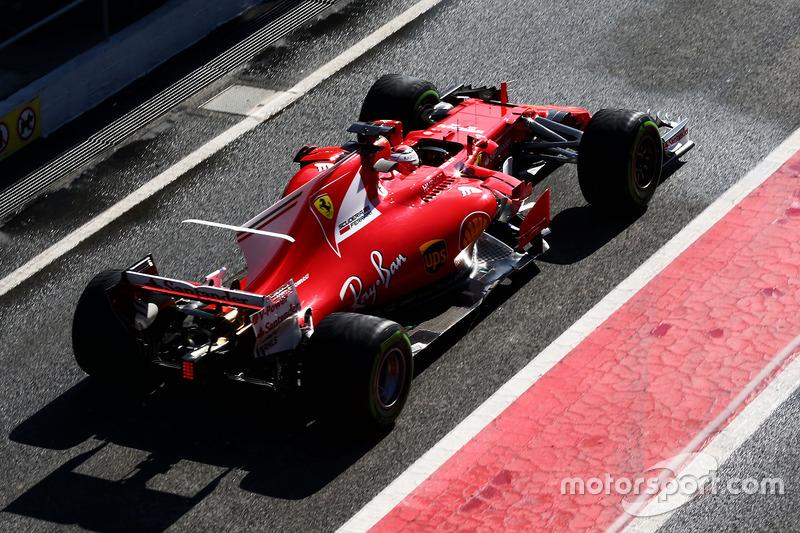 #6: Ferrari SF70H