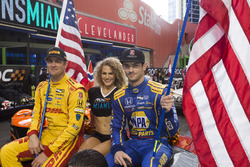 Team USA IndyCar Ryan Hunter-Reay and Alexander Rossi