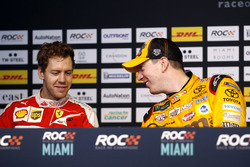 Press Conference with Sebastian Vettel and Kyle Busch
