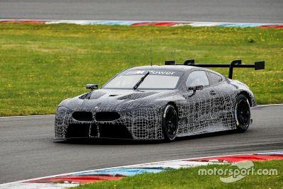 BMW M8 GTE tesztelés