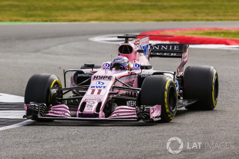 Серхіо Перес, Sahara Force India F1 VJM10