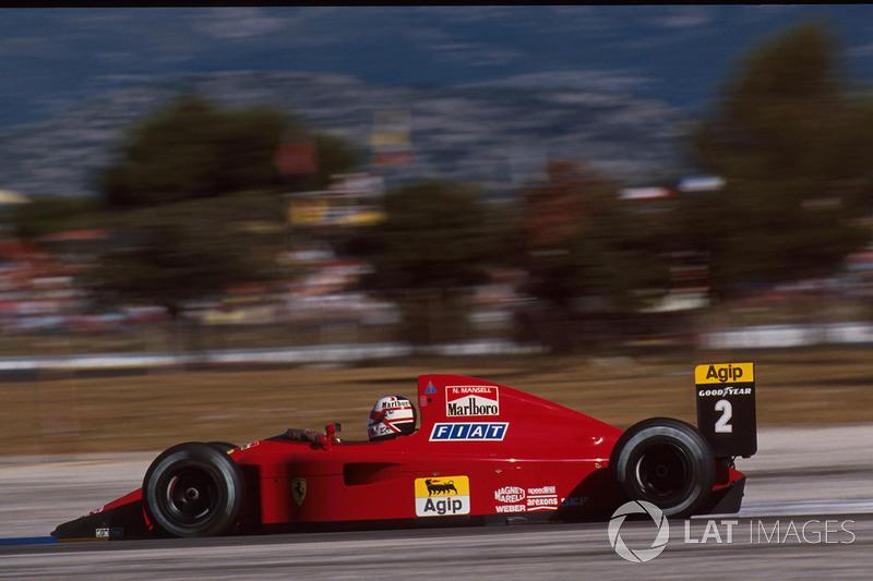 10. Франція-1990, Ле-Кастелле: Найджел Менселл, Ferrari 641 - 1.04,402