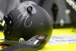 John Hunter Nemechek, SWM-NEMCO Motorsports Chevrolet's helmet
