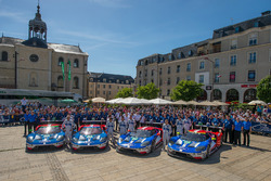Gruppenfoto: Ford Chip Ganassi Racing