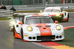 #86 Gulf Racing, Porsche 911 RSR: Michael Wainwright, Ben Barker, Nick Foster