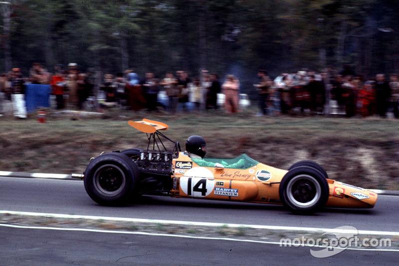 Ден Герні, McLaren M7A