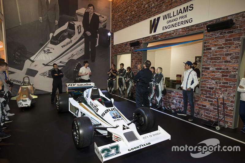 Lance Stroll, Williams en Williams Experience