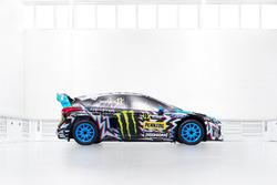 EL coche de Andreas Bakkerud, Hoonigan Racing Division, Ford Focus