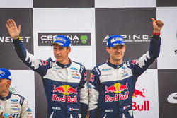Podium: third place Sébastien Ogier, Julien Ingrassia, Ford Fiesta WRC, M-Sport