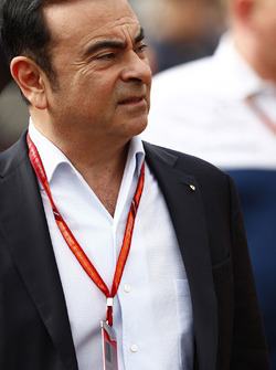 Carlos Ghosn, CEO, Renault Sport F1 Team