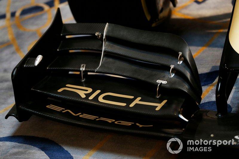 Rich Energy Branding en la nueva decoración de Haas 2019
