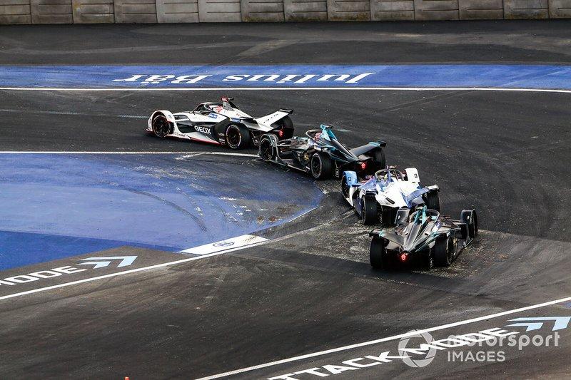 Felipe Nasr, Dragon Racing, Penske EV-3 Gary Paffett, HWA Racelab, VFE-05, Alexander Sims, BMW I Andretti Motorsports, BMW iFE.18