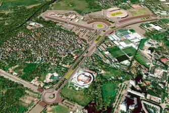 Representación del diseño del circuito de Hanoi