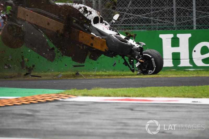 Marcus Ericsson, Sauber C37 kazası