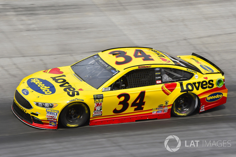 31. Michael McDowell, Front Row Motorsports, Ford Fusion Love's Travel Stops