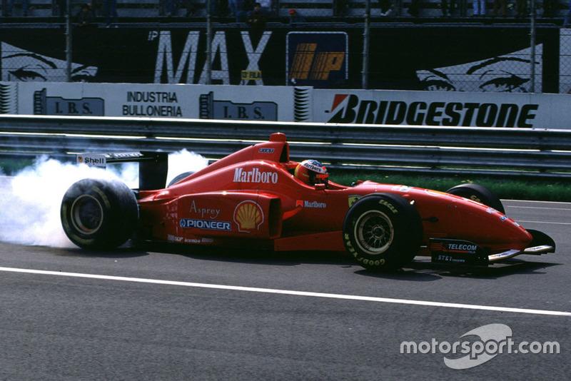 Michael Schumacher (1996, 1998, 2000, 2003 en 2006)