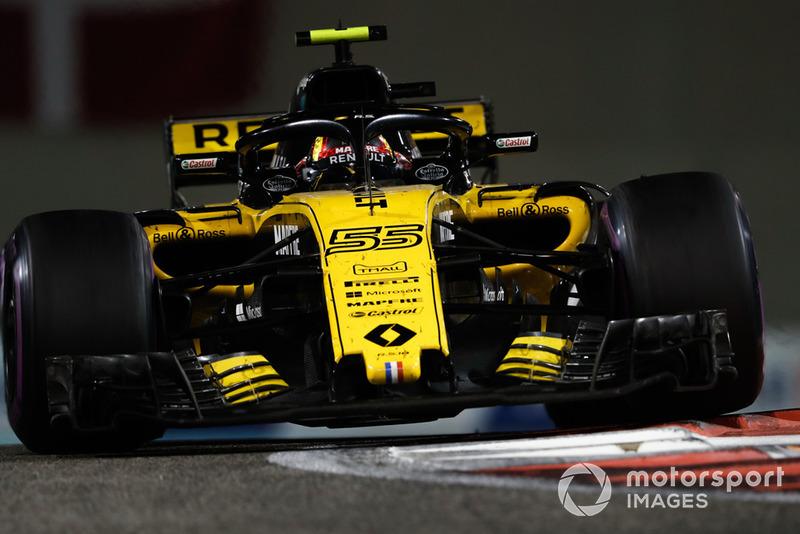 P6: Carlos Sainz Jr., Renault Sport F1 Team R.S. 18
