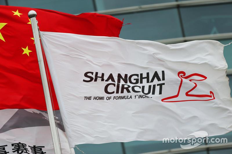 Banderas del circuito de Shanghai