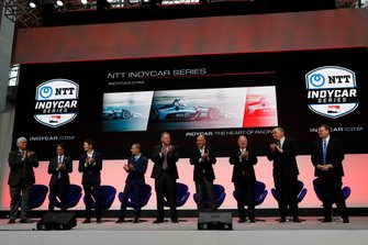 2019 IndyCar NTT Series Sponsor announcement