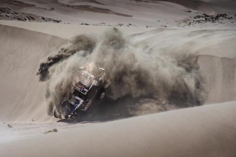 Авария: Сергей Карякин и Антон Власюк, Snag Racing Team, BRP Maverick X3 (№344)
