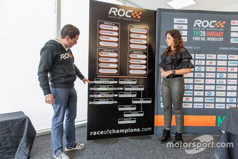 Sorteo Race of Champions