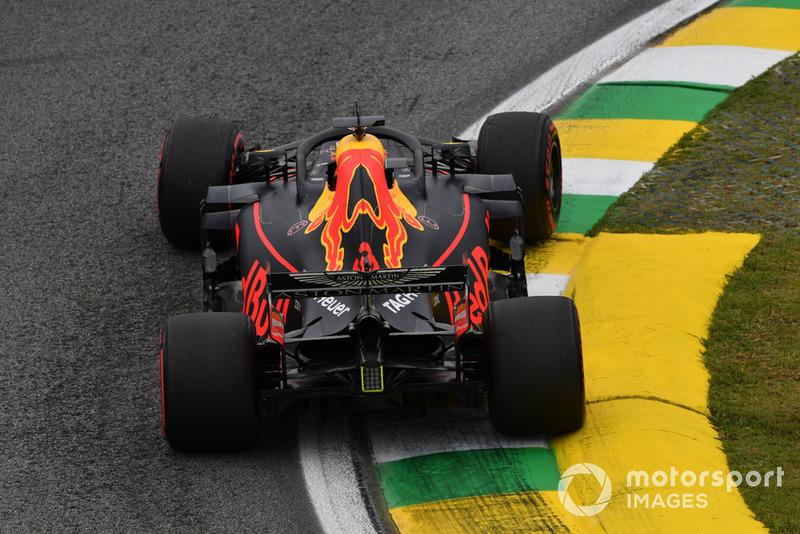 11: Daniel Ricciardo, Red Bull Racing RB14: 1:07.780 (incluidas 5 posiciones de penalización)