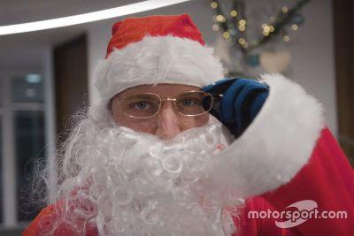 Bottas Père Noël