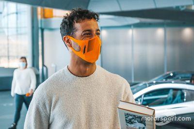 Ricciardo McLaren factory visits