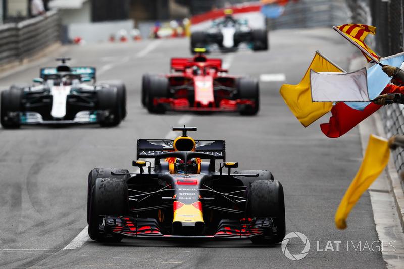 6. GP Monako - Pemenang: Daniel Ricciardo