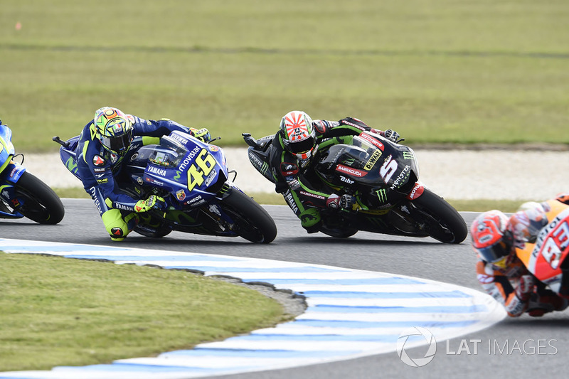 Valentino Rossi, Yamaha Factory Racing, Johann Zarco, Monster Yamaha Tech 3