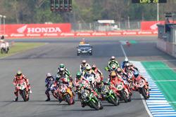 Jonathan Rea, Kawasaki Racing mène au départ