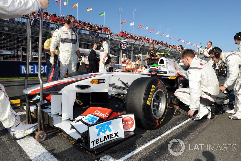 Sergio Perez - GP de Australia 2011 (Descalificado)