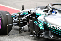 Valtteri Bottas, Mercedes-AMG F1 W09 and aero sensor