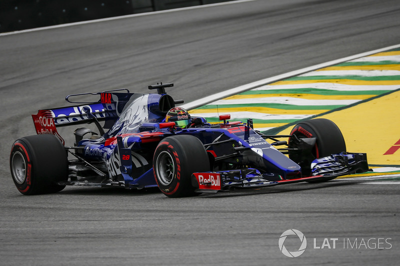 2017: Toro Rosso STR12 (одно четвертое место, 7-е место в КК)