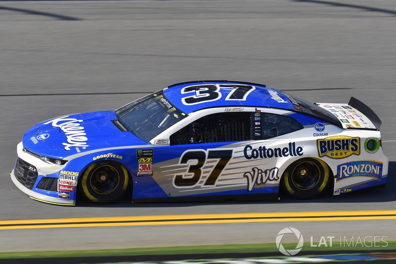 21. Chris Buescher, JTG Daugherty Racing, Chevrolet