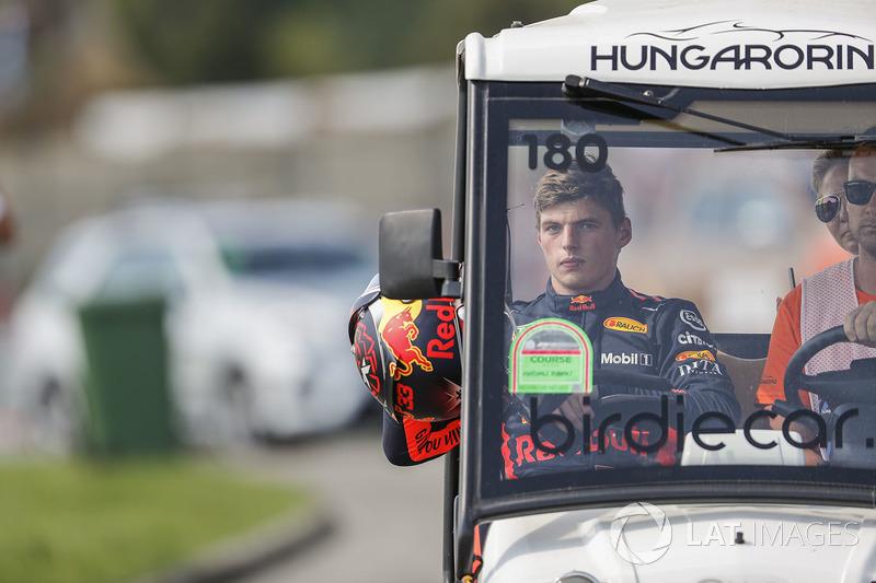 Сход: Макс Ферстаппен, Red Bull Racing
