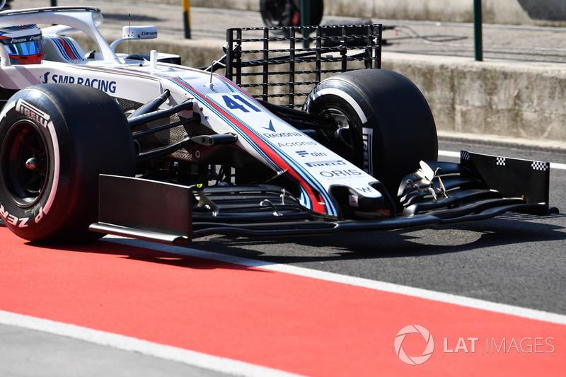 Alerón delantero del Williams FW41