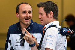 Robert Kubica, Williams ve Rob Smedley, Williams Araç Performansı Şefi