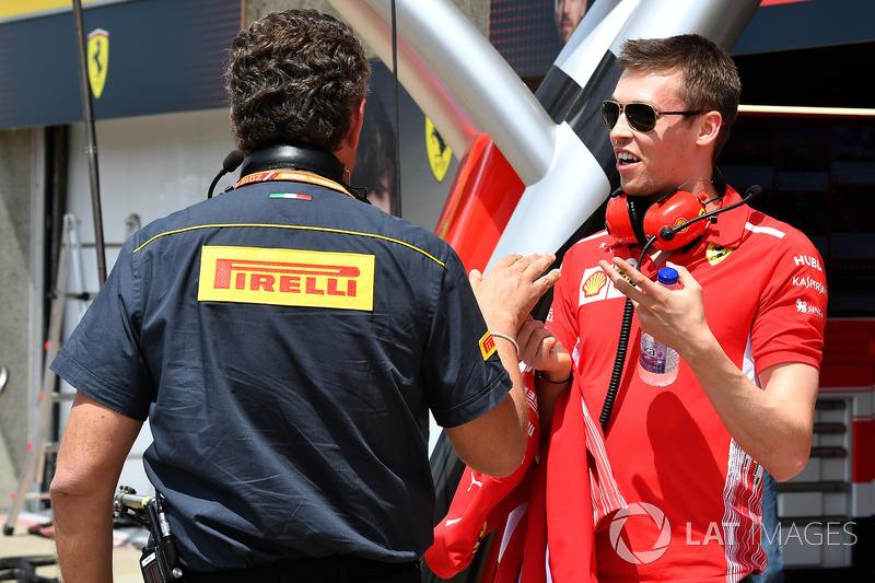 Daniil Kvyat, Ferrari